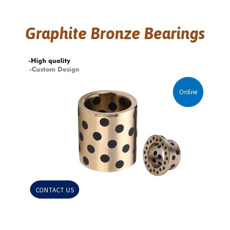 Incidences en bronze de graphite| Directement, à flasque, joints, Pin de guide, éjecteur de guide, courrier de guide, sphérique